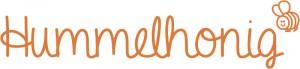 Hummelhonig_Schriftzug_mit_Biene_orange