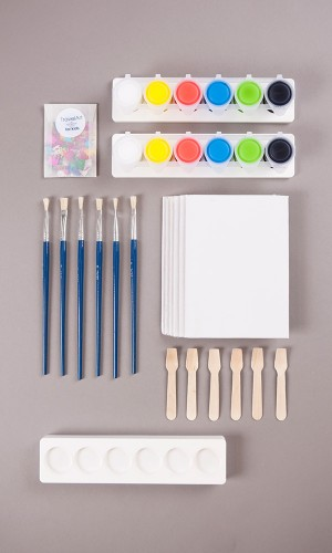 Birthday artist kit