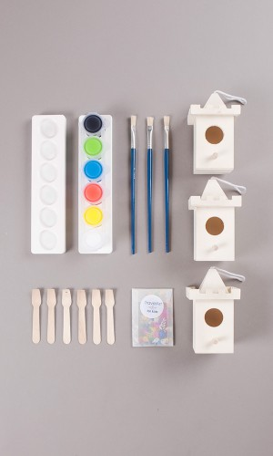 Birthday birdhouse kit